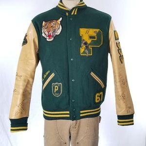 Polo Ralph Lauren Tiger Patch Letterman Jacket